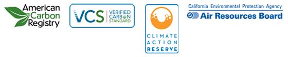 carbon offset scheme logos