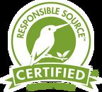 Certified Responsible Source lOGO