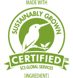 Sustainably Grown Ingredients Logo