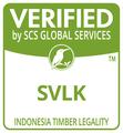 SCS Certified SVLK Logo