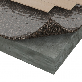 LVT Total Comfort - Underlayment by Amorim Cork Composites | SCS