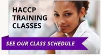 HACCP training courses