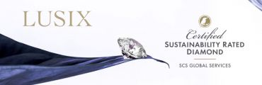 LUSIX diamonds sustainably certified by SCS