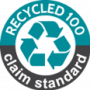 Recycled 100 logo