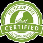 Pesticide Free logo